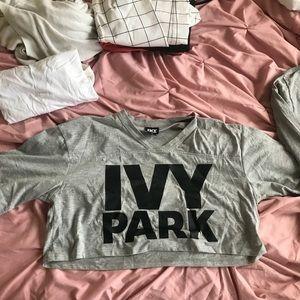 IVY PARK CROP TOP SHIRT